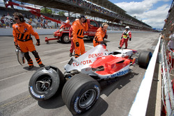 Accident de Ralf Schumacher, Toyota TF105