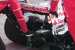 Ferrari SF70H detalle trasero