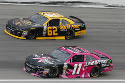 Blake Koch, Kaulig Racing Chevrolet, Brendan Gaughan, Richard Childress Racing Chevrolet