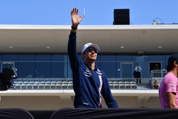 Esteban Ocon, Sahara Force India F1 on the drivers parade