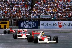 Айртон Сенна, Ален Прост, McLaren MP4/5