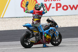 Third place and champion Franco Morbidelli, Marc VDS