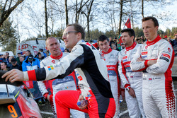 Jari-Matti Latvala, Toyota Racing, Kris Meeke, Paul Nagle,  Citroën World Rally Team, Craig Breen, Scott Martin, Citroën World Rally Team