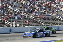 Ricky Stenhouse Jr., Roush Fenway Racing Ford, Jeffrey Earnhardt, Circle Sport – The Motorsports Group Chevrolet