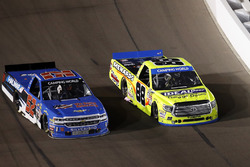 Stewart Friesen, Elaine Larsen Motorsports Chevrolet, Matt Crafton, ThorSport Racing Toyota