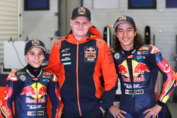 Deniz Öncü and Can Öncü, with Niklas Ajo, Red Bull KTM Ajo