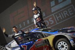 Détail de la voiture de Sébastien Ogier, Julien Ingrassia, Ford Fiesta WRC, M-Sport