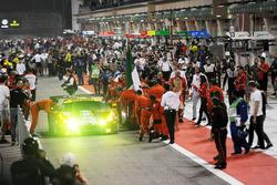 LMGTE Pro: tweede plaats #51 AF Corse Ferrari 488 GTE: James Calado, Alessandro Pier Guidi