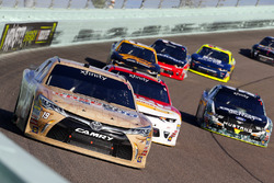 Matt Tifft, Joe Gibbs Racing Toyota, Michael Annett, JR Motorsports Chevrolet and Casey Mears, Biagi-DenBeste Racing Ford