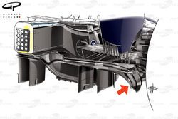 Difusor del Red Bull RB13