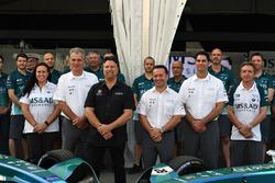 Michael Andretti at the team presentation