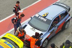Andreas Mikkelsen, Thierry Neuville, Hyundai NG i20 WRC, Tony Cairoli, Danilo Fappani, Hyundai NG i20 WRC
