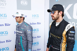 Nelson Piquet Jr., Jaguar Racing, y Jean-Eric Vergne, Techeetah