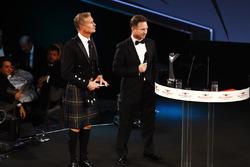David Coulthard en Christian Horner