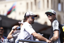 Fernando Alonso, McLaren, Nico Hulkenberg, Force India