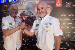 José Luis Peña and his co driver, Rafa Tornabell