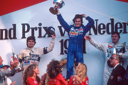 Podium: 1. Alain Prost, Renault; 2. Nelson Piquet, Brabham; 3. Alan Jones, Williams