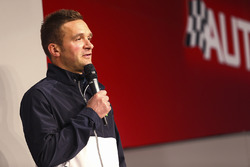 Colin Turkington on the Autosport Stage