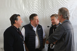 Michael Andretti, Zak Brown, United Autosports