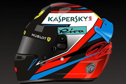 Kimi Raikkonen helmet unveil