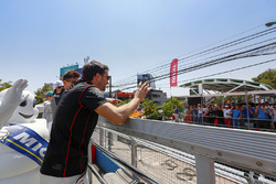 Jérôme d'Ambrosio, Dragon Racing waves to the fans