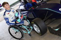 Billy Monger testet Formel 3