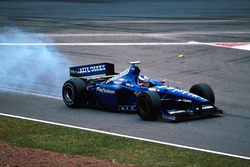 Olivier Panis, Prost Peugeot AP01 retires with engine failure