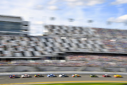 Denny Hamlin, Joe Gibbs Racing Toyota and Erik Jones, Joe Gibbs Racing Toyota