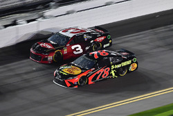 Austin Dillon, Richard Childress Racing Chevrolet Camaro, Martin Truex Jr., Furniture Row Racing Toyota
