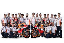 Presentazione del Team Repsol Honda