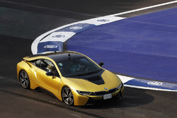 Carmen Jorda drives a BMW i8