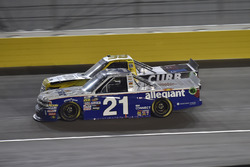 Johnny Sauter, GMS Racing, Chevrolet Silverado Allegiant Airlines, Grant Enfinger, ThorSport Racing, Ford F-150