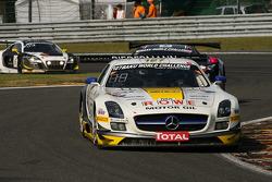 #127 Rowe Racing Mercedes SLS AMG GT3: Klaus Graf, Jan Seyffarth, Lance David Arnold