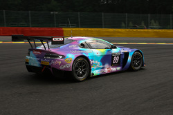#89 GPR AMR Aston Martin Vantage GT3: Pierre Grivegnée, Michael Schmetz, Sarah Bovy, Bert Redant
