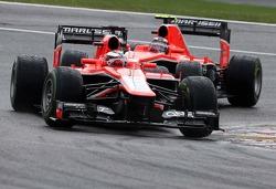 Jules Bianchi, Marussia Formula One Team e Max Chilton, Marussia F1 Team
