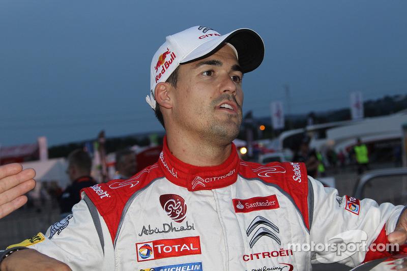 Dani Sordo, Carlos del Barrio, Citroen DS3 WRC #3, Citro_én Total Abu Dhabi World Rally Team