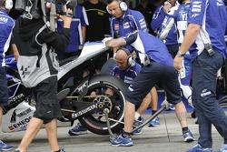 Yamaha pits