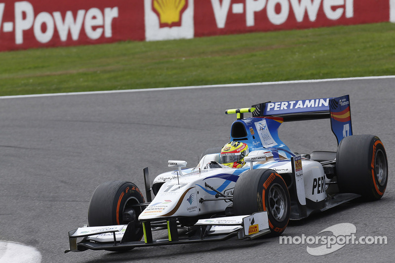 2013: Dallara GP2/11 Mecachrome, GP2