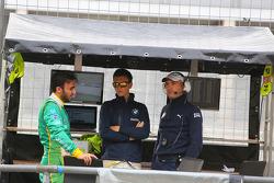 Abdulaziz Al Faisal, Max Sandritter, Dominik Baumann, PIXUM Team Schubert, BMW Z4 GT3, portret
