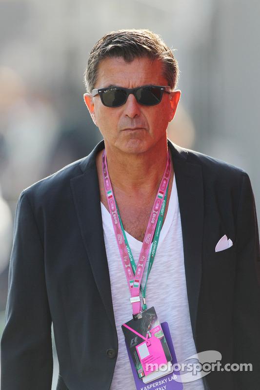 Enrico Zanarini, manager de pilotos