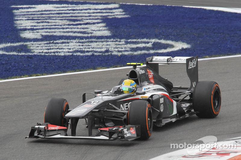 El Sauber C32 que probará Tatiana Calderón en Fiorano: