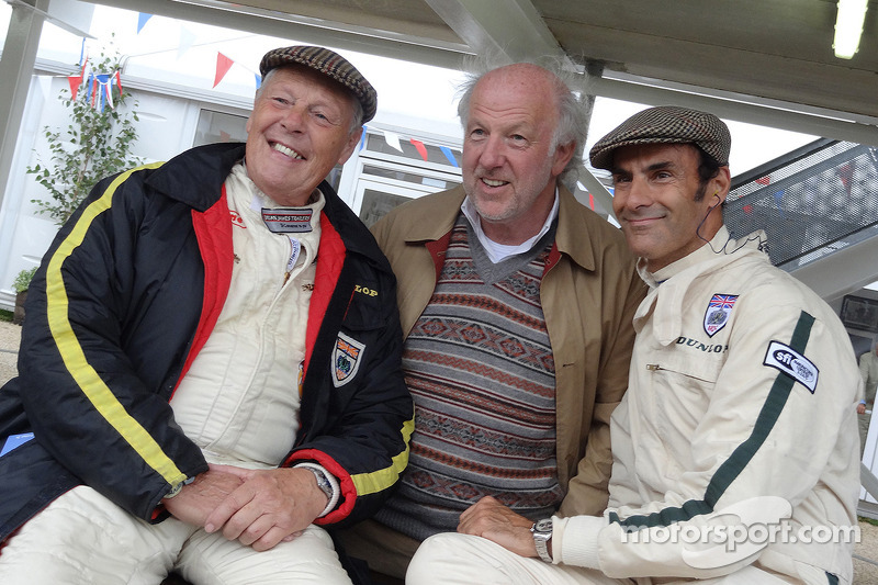 Barrie Williams, David Richards and Emanuele Pirro