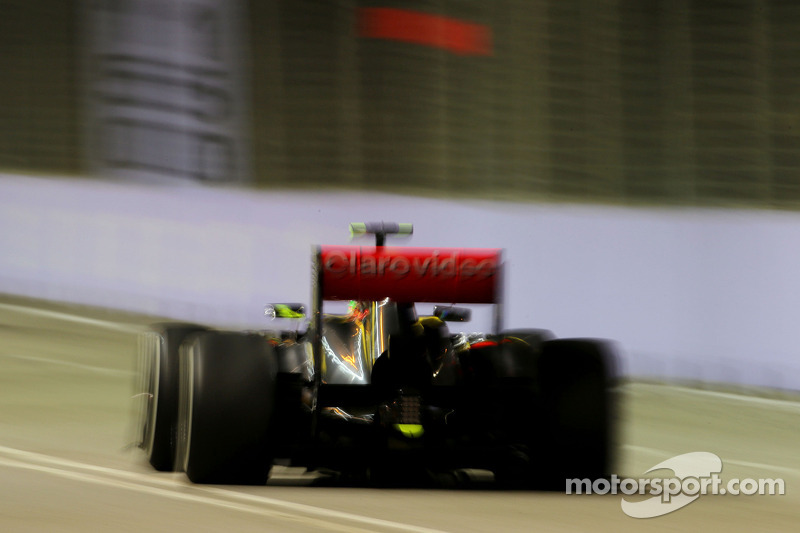 Sergio Pérez, McLaren Mercedes  20