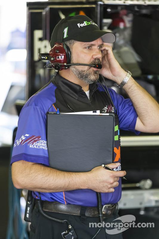 Darian Grubb, crew chief for Denny Hamlin