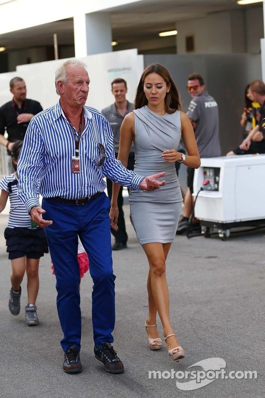 John Button, with Jessica Michibata (JPN)
