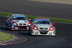 Tom Coronel, BMW E90 320 TC, ROAL Motorsport  and Mehdi Bennani, BMW E90 320 TC, Proteam Racing