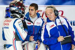 Stéphane Sarrazin, Sébastien Buemi en Hugues de Chaunac