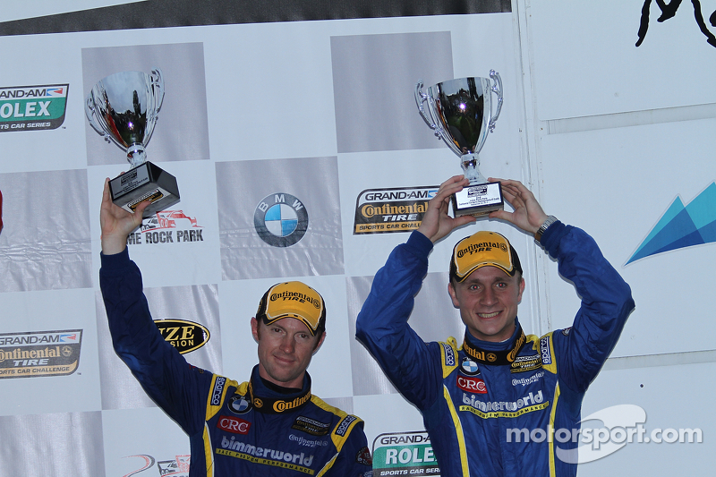 2e plaats- #81 BimmerWorld Racing BMW 328i: Tyler Cooke, Gregory Liefooghe