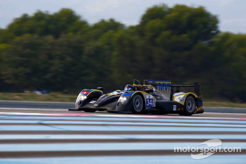 #34 Race Performance ORECA 03 JUDD: Michel Frey, Marcello Marateotto