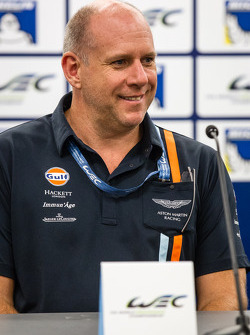 Press conference for the North American WEC drivers: Paul Dalla Lana